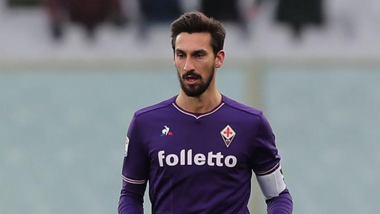 Fiorentina fez neste domingo seu primeiro jogo após a morte do zagueiro e capitão Davide Astori. - Foto: Divulgação