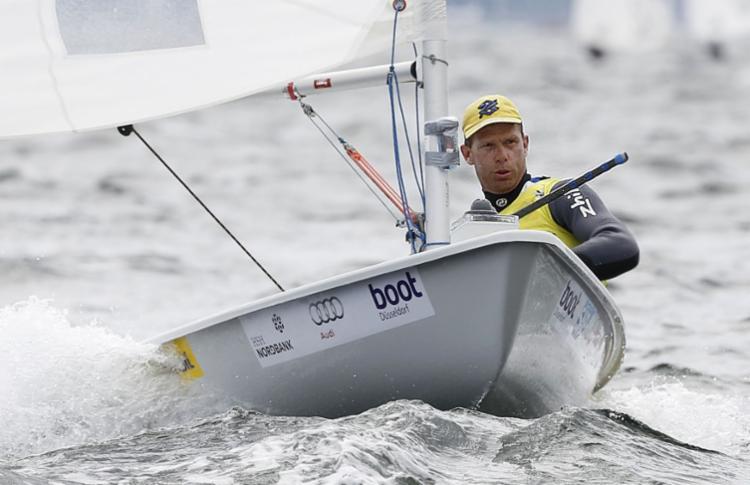Robert Scheidt iniciou temporada 2018 com uma medalha de prata - Foto: Reprodução