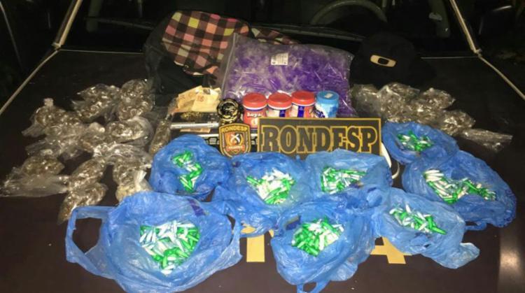 Drogas seriam vendidas em festa Paredão - Foto: Divulgação | SSP-BA