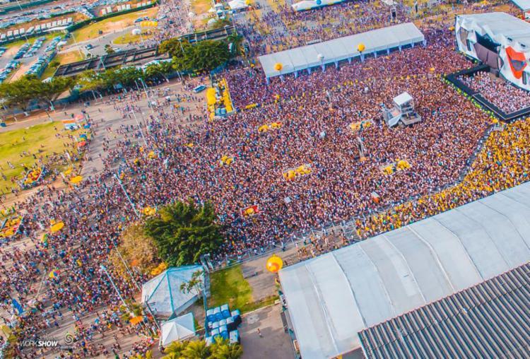 Em 2017 a festa reuniu mais de 60 mil pessoas no Wet - Foto: Divulgação