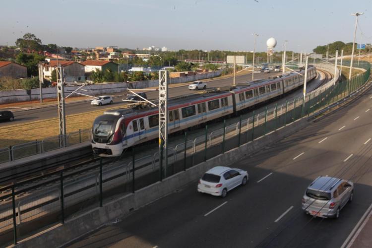 Testes não afeta o embarque e desembarque dos usuários na estação Mussurunga - Foto: Alberto Coutinho | GOV-BA