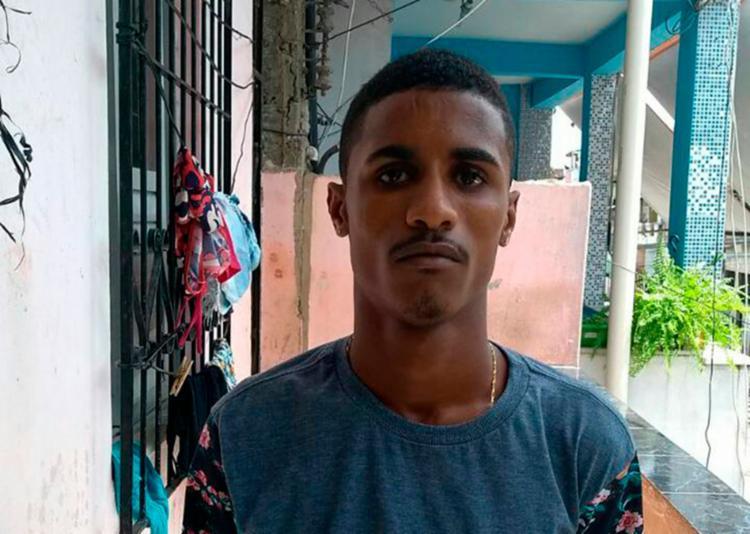 Isaque Souza tentou fugir de uma abordagem policial - Foto: Divulgação   SSP-BA