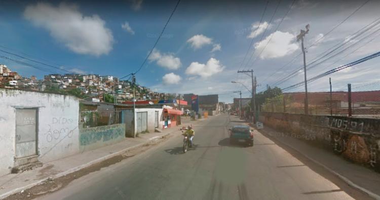 Tentativa de assalto aconteceu na rua Nilo Peçanha - Foto: Reprodução | Google Street View