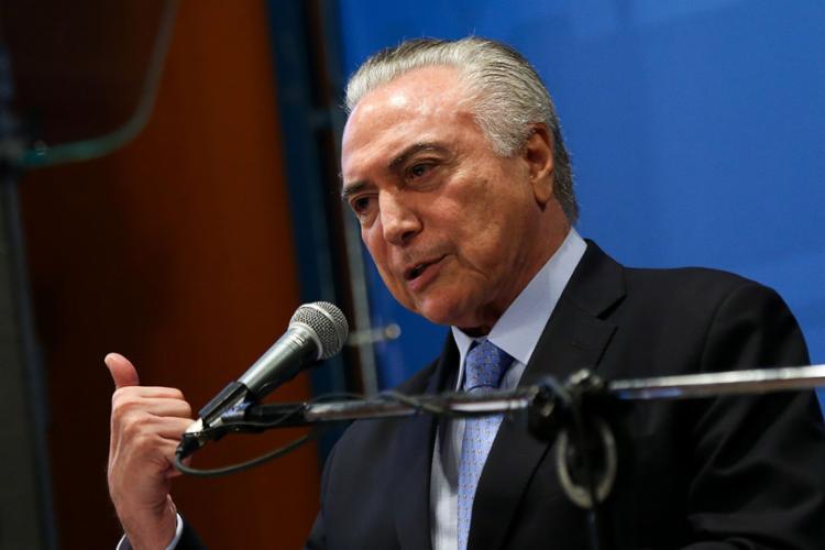 Temer disse que está atendendo apelo dos governadores - Foto: Marcelo Camargo   Agência Brasil
