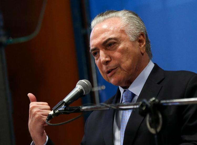 Amigos de Temer foram presos na última quinta - Foto: Marcelo Camargo | Agência Brasil