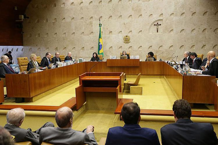 Corte debate se pedido da defesa do ex-presidente deve ser avaliado ou não - Foto: Antonio Cruz l Agência Brasil