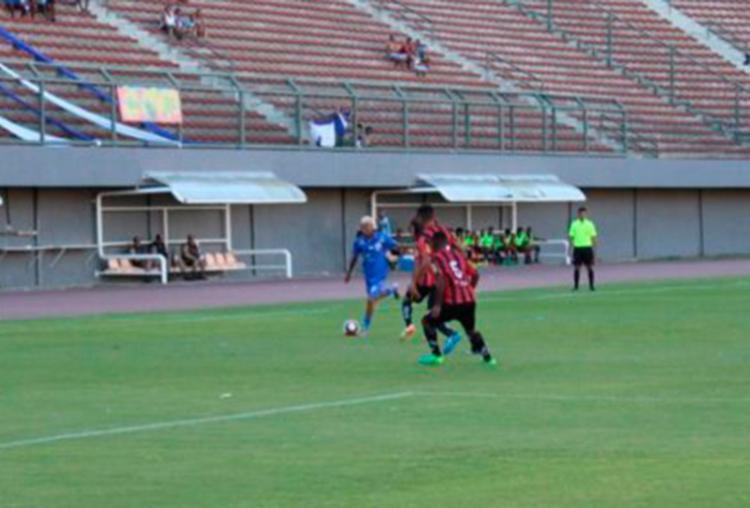Teixeira goleou o Galícia em Pituaçu - Foto: Reprodução | FBF