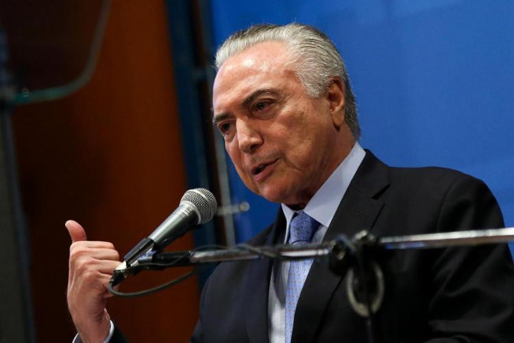 Temer vai blindar os bancos que concederem empréstimos com essas garantias - Foto: Agência Brasil