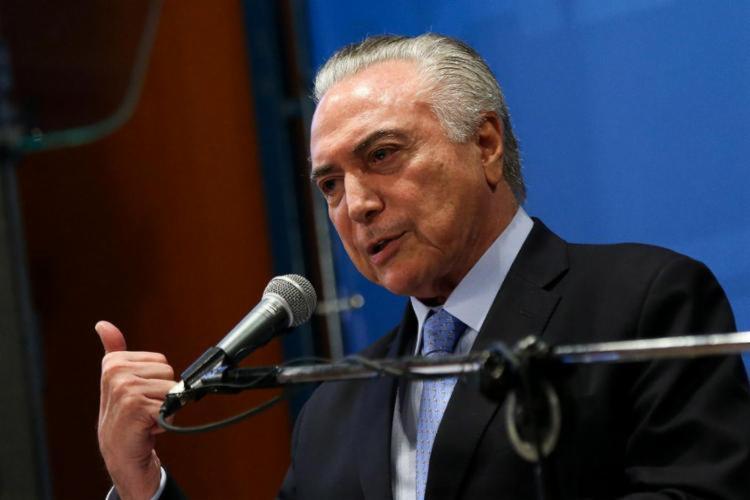 Os que disseram não confiar no peemedebista saiu de 90% para 89% - Foto: Agência Brasil