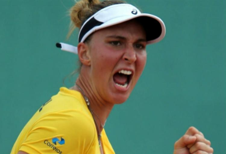 A paulista é a tenista número 1 do Brasil - Foto: Reprodução   CBT