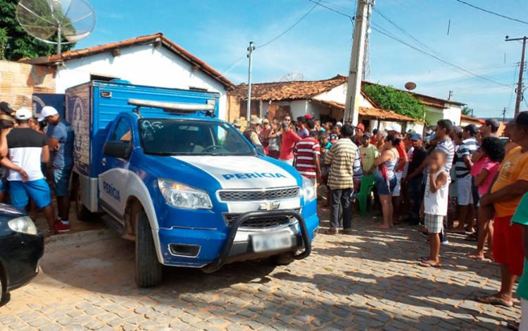 Os três foram mortos dentro de casa - Foto: Reprodução | Blog Braga
