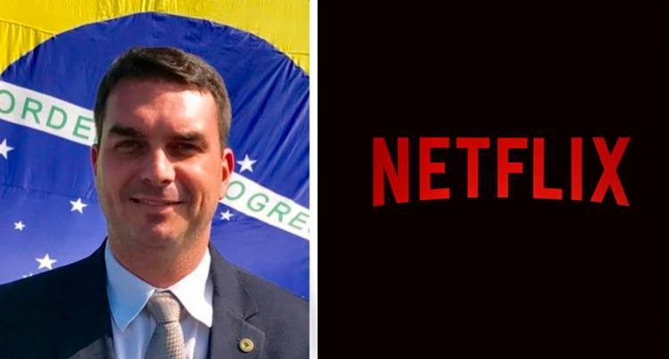 Flavio Bolsonaro foi desmentido publicamente pela produtora de vídeos - Foto: Reprodução | Twitter