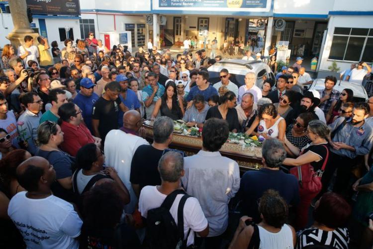 Marielle, de 38 anos, foi assassinada com quatro tiros na cabeça na noite de quarta-feira, 14 - Foto: Fernando Frazão   Agência Brasil