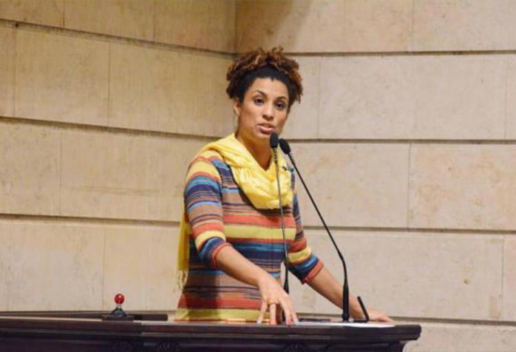 Vereadora foi morta no dia 14 deste mês, no Rio de Janeiro - Foto: Divulgação | Câmara Municipal do Rio