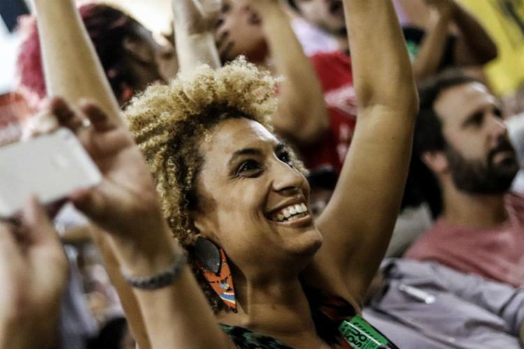Marielle Franco estaria presente no movimento 'Vamos de Preto' - Foto: Reprodução | PSOL