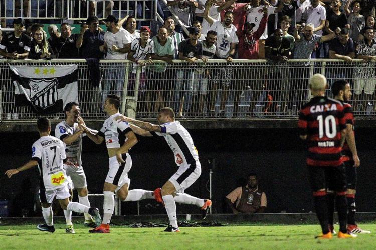Matheus Peixoto marcou o único gol da partida - Foto: Fábio Moraes l Futura Press l Estadão Conteúdo