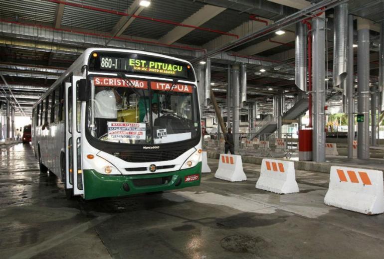 Após 16 meses de obras, Terminal de ônibus de Pituaçu é inaugurado   Mateus Pereira   GOVBA