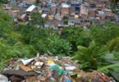 Terceiro alarme de deslizamento de terra é acionado no subúrbio de Salvador | Foto: Shirley Stolze | Ag. A TARDE