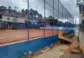 Adolescente é morto a tiros em campo de futebol no Alto do Cabrito | Foto: Jefferson Domingos l Ag. A TARDE