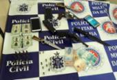 Quatros suspeitos são presos com armas e munições em Paulo Afonso | Foto: Reprodução | SSP