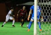Vitória pressiona no Barradão, mas não sai do zero com o Corinthians | Foto: Adilton Venegeroles | Ag. A TARDE