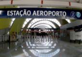 Estação Metrô do Aeroporto tem capacidade para 17 mil pessoas | Foto: Paula Fróes | Divulgação | GOVBA