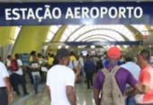 Após inauguração, estação aeroporto do metrô inicia operação | Foto: Luciano da Matta | Ag. A TARDE