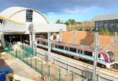 Estação do metrô do aeroporto será inaugurada nesta quinta | Foto: Alessandra Lori | Ag. A TARDE
