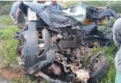 Motorista morre após veículo colidir com carreta na BA-026 | Foto: Reprodução | Blog do Marcelo