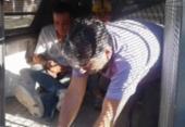 Homens são presos após apreensão de cocaína avaliada em R$ 250 mil | Foto: Aldo Matos | Reprodução | Acorda Cidade