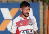 Zé Rafael pede apoio da torcida em jogo contra o Santos | Foto: Felipe Oliveira l EC Bahia