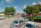 Homem morre e duas mulheres ficam feridas após capotamento | Reprodução | Google Maps