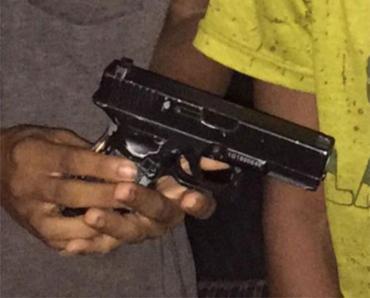 Dois adolescentes participaram da ação - Foto: Divulgação   SSP