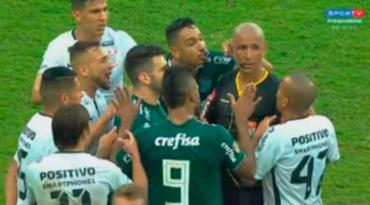 Confusão foi na final do Campeonato Paulista - Foto: Reprodução
