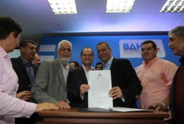 Convênio é firmado para pavimentação de ruas em Amargosa