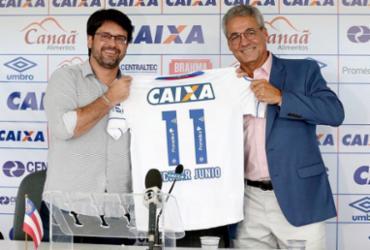 Presidente do Bahia anuncia nova parceria   Reprodução   Twitter