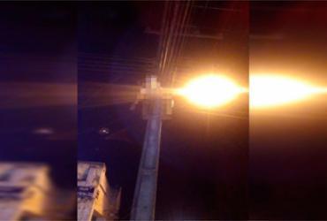 Homem morre eletrocutado em rede de alta tensão em Teixeira de Freitas   Reprodução   Teixeira News