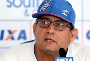 """""""São mais 90 minutos"""" diz Guto Ferreira sobre jogo de volta contra o Bloming   por Felipe Oliveira   EC Bahia"""