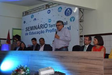 Seminário Territorial de Educação Profissional é realizado em Teixeira de Freitas