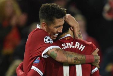Liverpool faz 5 em show de Firmino e Salah, mas Roma reage e segue viva em semi   Oli Scarff   AFP