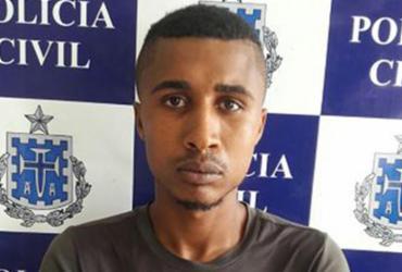 Jovem é preso por tentativa de homicídio em Santo Antônio de Jesus   Divulgação l Polícia Civil