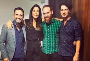 Ivete Sangalo curte show do uruguaio Jorge Drexler em Salvador | Reprodução | Instagram