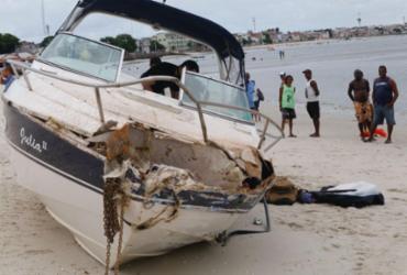 Embarcação com explosivos é apreendida na Baía de Todos-os-Santos | Margarida Neide | Ag. A TARDE
