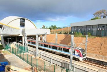 Estação do metrô do aeroporto será inaugurada nesta quinta   Alessandra Lori   Ag. A TARDE