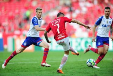 Bahia joga mal e perde para o Internacional na estreia   Ricardo Duarte l Internacional