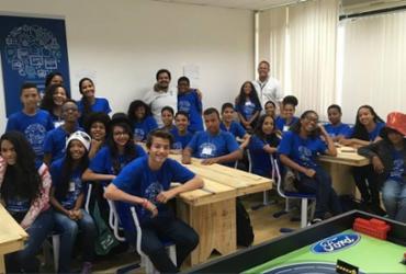 Estudantes de Camaçari participam de palestra sobre inovação e tecnologia
