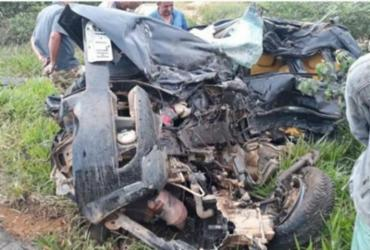 Motorista morre após veículo colidir com carreta na BA-026 | Reprodução | Blog do Marcelo