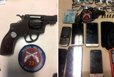 Jovens são presos suspeitos de assaltos na região do Cabula | Divulgação | Polícia Militar