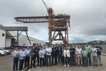 Grupo chinês faz visita técnica ao Porto de Ilhéus
