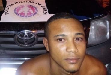 Suspeito de 25 anos é preso com drogas e 10 bataclavas em Paripe | Divulgação | SSP